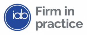 Logo of IAB firm in practice registered